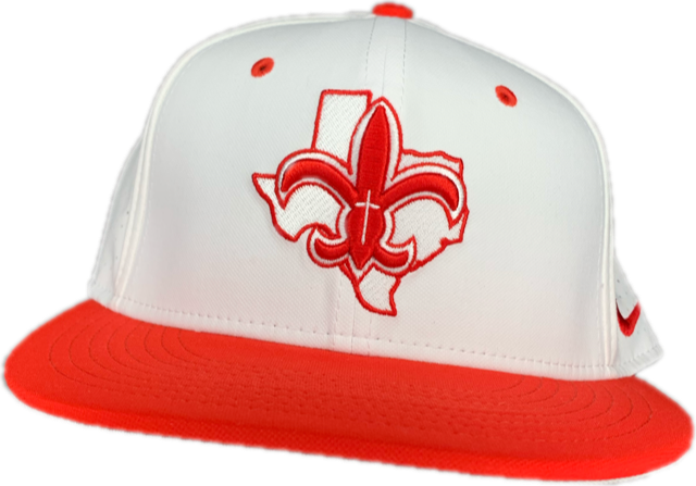 Red and White Texas Fleur Hat