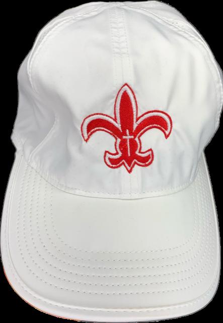 White Fleur Hat